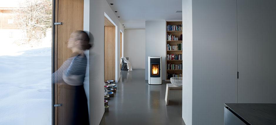 Riscaldamento a pavimento: risparmio con il pellet?